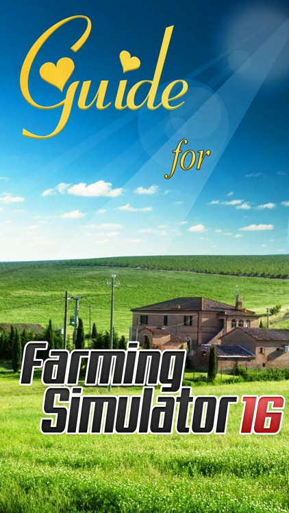 Guide for Farming Simulator 16
