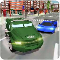 Army Rangers Van Gangsters Chase – Underworld mafia chase game