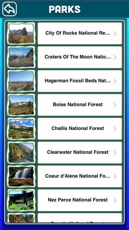 Idaho National & State Parks