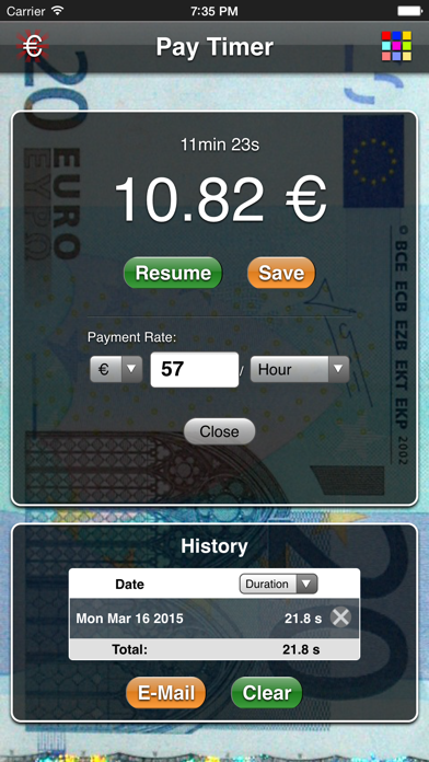 Pay Timer Free screenshot two
