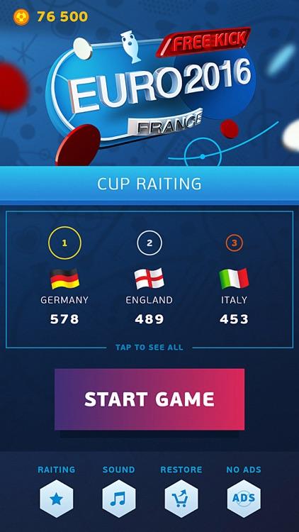 Free Kick - Euro 2016 Edition France screenshot-4