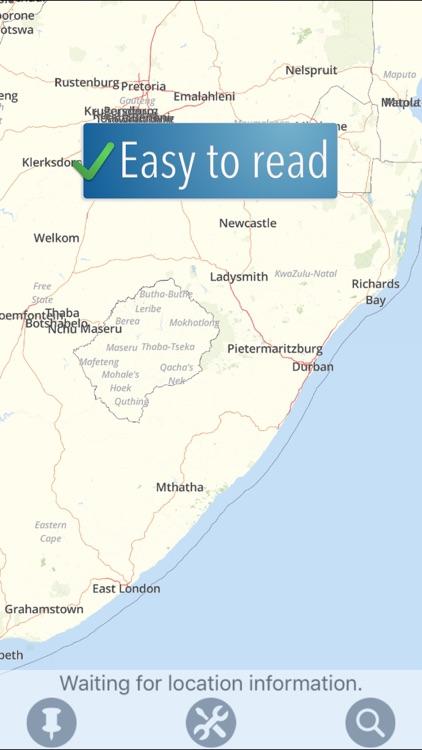 South Africa Travelmapp