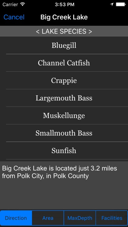 Iowa: Fishing Lakes screenshot-1