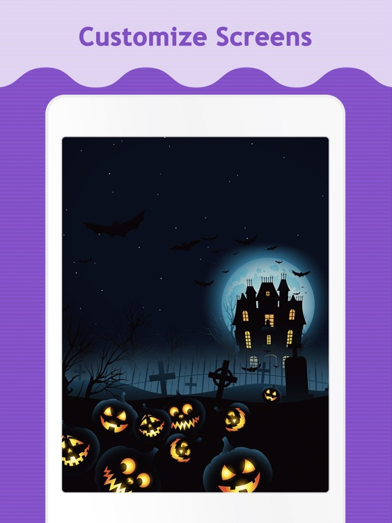 Halloween Wallpapers for iPad.