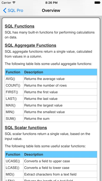 SQL Pro screenshot-4