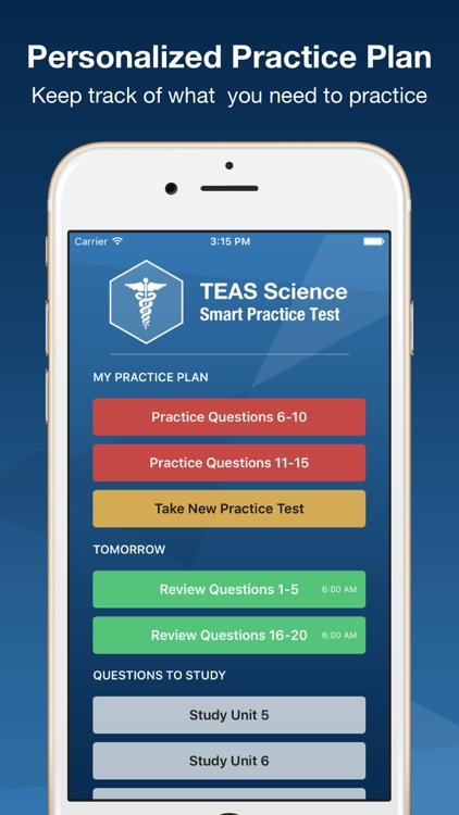 TEAS V Science Smart Prep 2016 screenshot-3