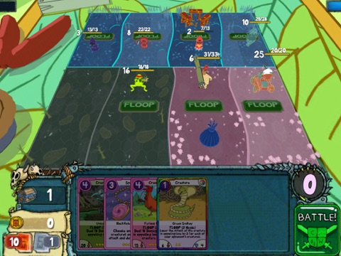 Card Wars tablet App screenshot 4