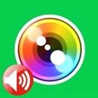 超微音カメラ+ - 高画質マナー静音無人タイマーカメラ(無音カメラ) icon