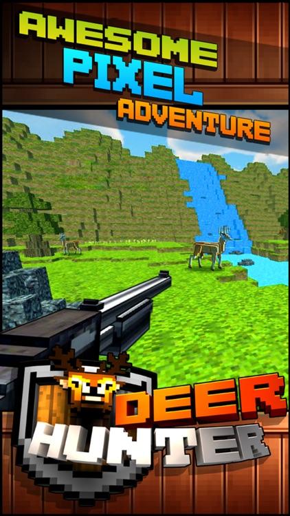 Wild Deer Hunt-ing Survival Pixel World 2016 - Mini Hunter