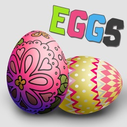 Easter Egg Painter Pro - Virtual Simulator to Decorate Festival Eggs & Switch Color Pattern