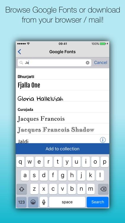 Fonteer - Install fonts (Premium) screenshot-3