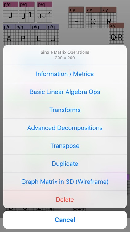 Touch Matrix Algebra PRO screenshot-3