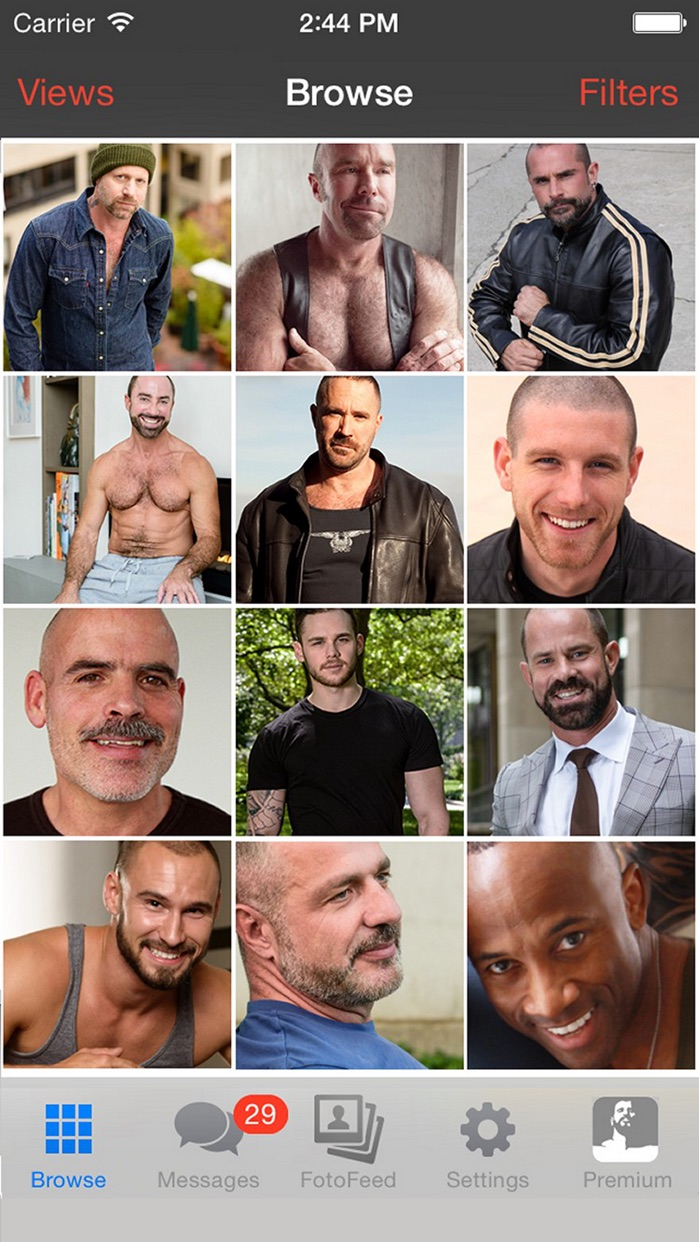 Daddyhunt: Gay chat & dating for daddies and bears Screenshot