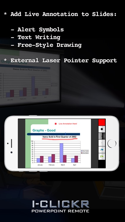 i-Clickr Remote for PowerPoint Lite screenshot-4