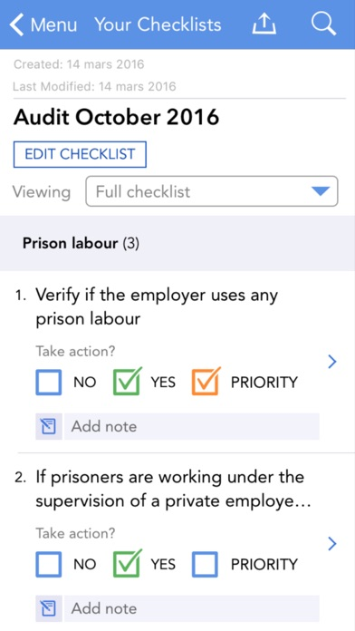 Eliminating and Preventing Forced Labour: Checkpoints screenshot four