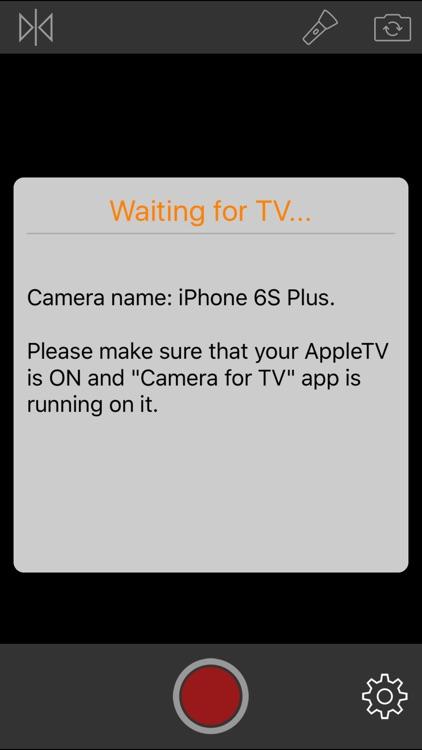 Camera for TV