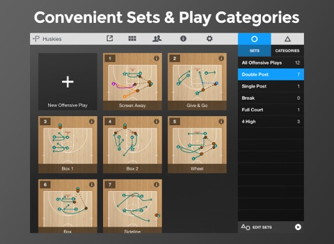 Screenshot #5 pour Basketball Playmaker Playbook