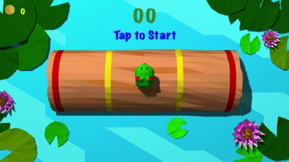 Froggy Log - Endless Arcade Log Rolling Simulator and Lumberjack Game Stay Dry and Dont Fall In The Water!-0