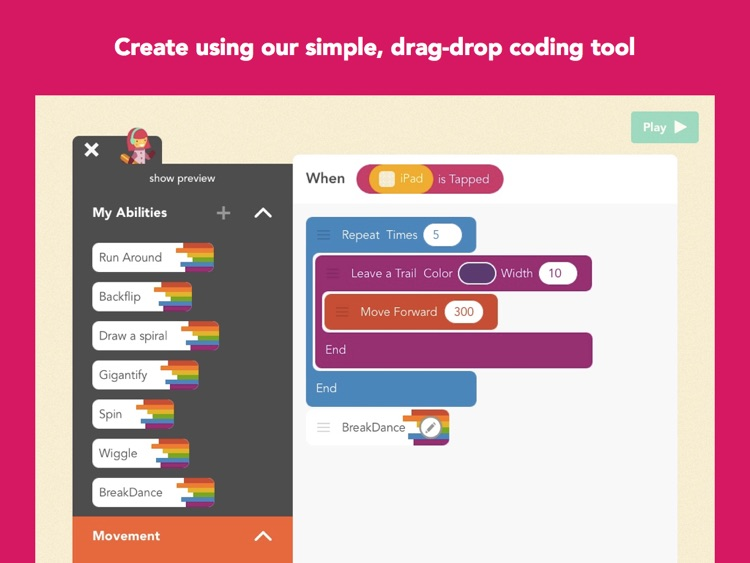 Hopscotch For Schools: Learn to code, make cool things, have fun.