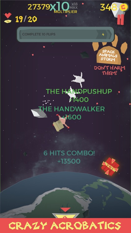 Waste in Space - Endless Arcade Shooter screenshot-1