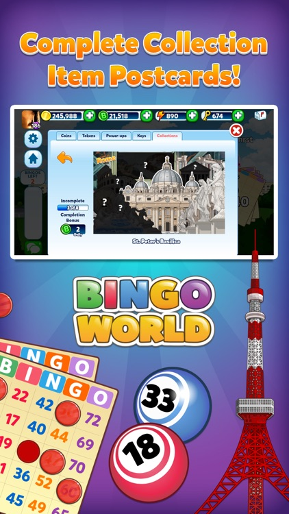 Bingo World - Bingo and Slots Game screenshot-3
