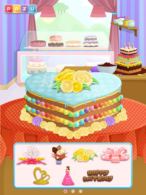 Cake Shop Making Cooking Cakes Game For Kids By Pazu App
