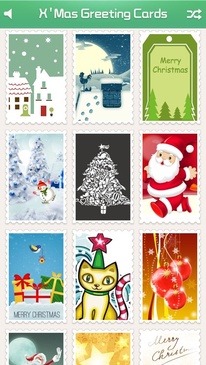 X'Mas Greeting Cards