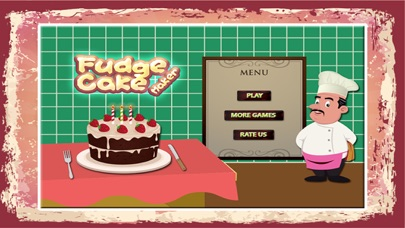 Fudge Kuchen Maker Backen Leckeren Kuchen In Dieser Cooking Chef