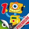 Robots y números - juegos para aprender a contar, sumar y las matemáticas básicas para niños pequeños (Premium)