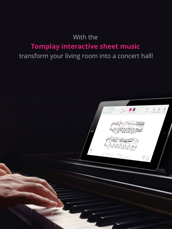 Tomplay sheet music screenshot-0