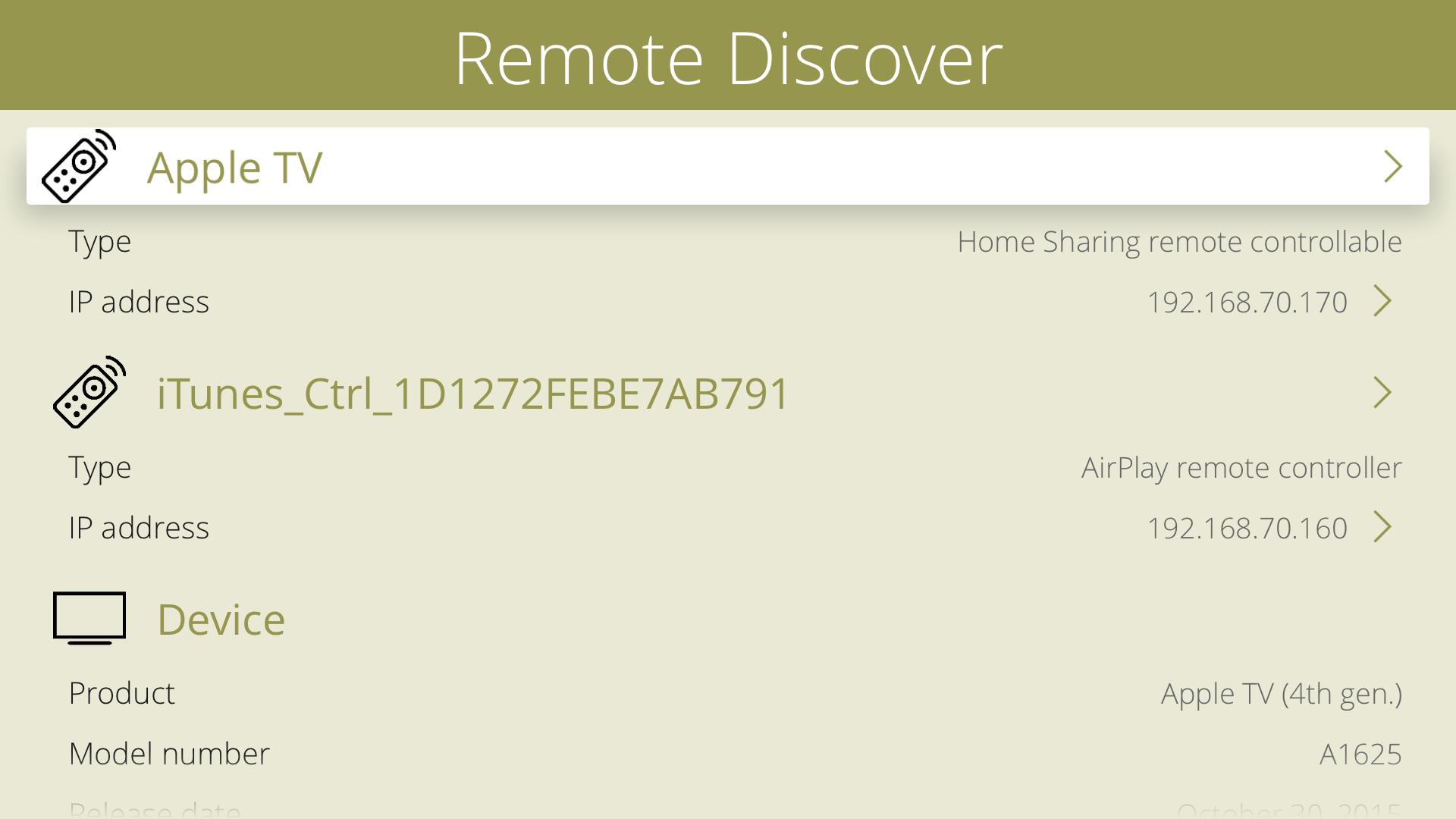 Remote Discover screenshot 11