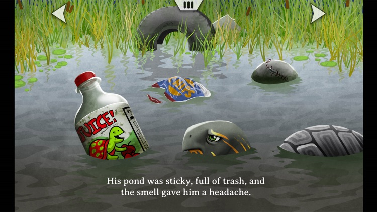 Turtle Crossing - An Animated, Interactive Storybook App screenshot-3