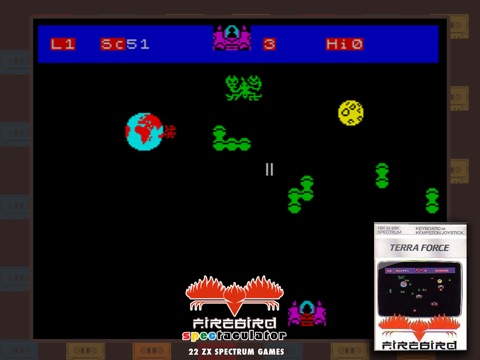 Игра Firebird Spectaculator (ZX Spectrum)