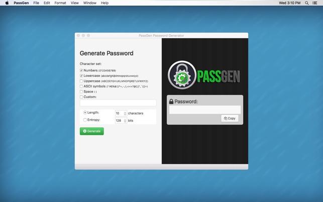 Passgen - Strong Password Generator