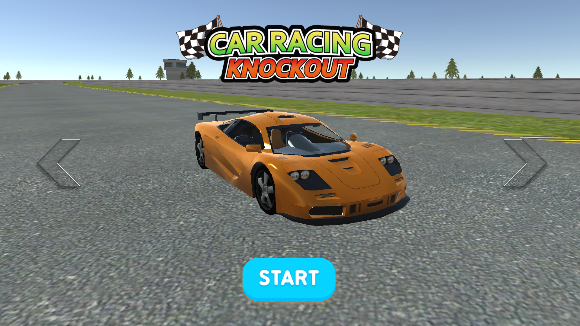 Car Racing : Knockout 3D for TV screenshot 1