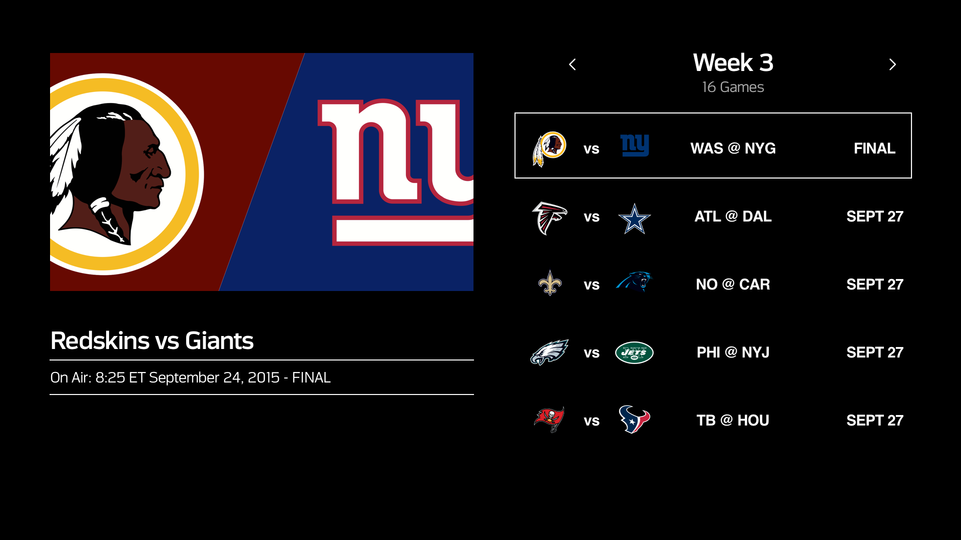 NFL screenshot 12