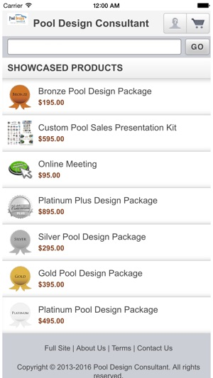 App store pool design consultant for Pool design app free