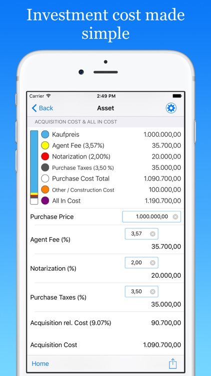 ImmoByte Home Mortgage Calculator helps you compare loan terms, interest rates and more to find the best deal. screenshot-4