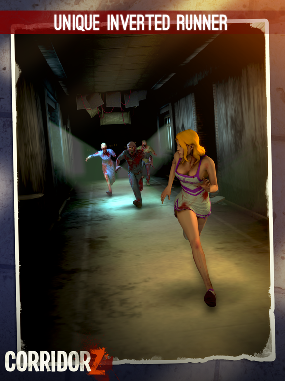 Corridor Z - Inverted Zombie Runner screenshot
