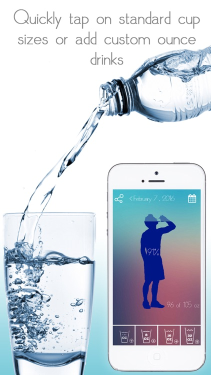 Water Tracker - Daily hydration tracker, intake counter, water logger, daily water tracker and water reminder