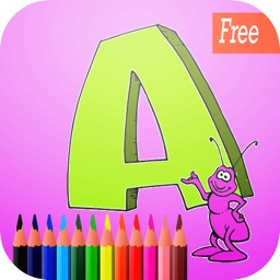 abc art pad:Learn to painting and drawing coloring pages printable for kids free