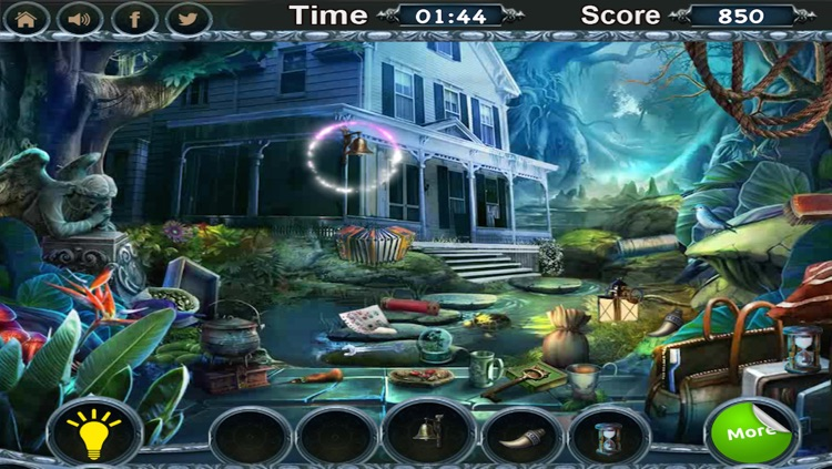 The Cursed Town - Find Hidden Object