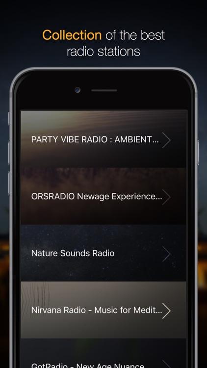 Radio Meditation - the top internet radio stations 24/7 screenshot-3