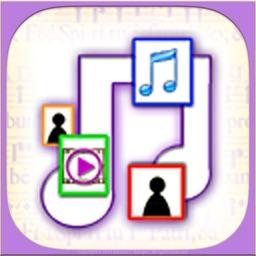 iFlow Shuffle - Fan Art, Music, Photo and Video Player