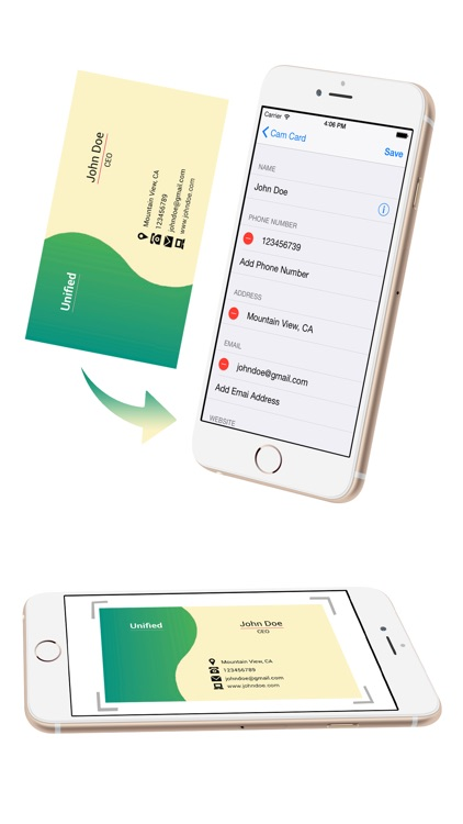 Card Contact -best new card reader,scanner iPhone