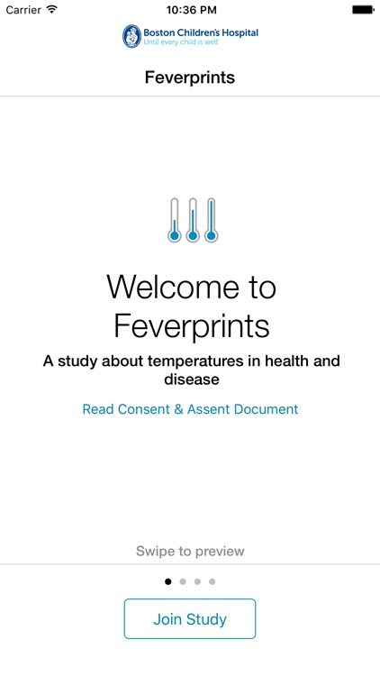Feverprints - A study about body temperature in health and disease