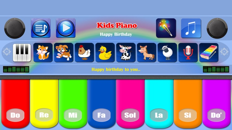 Kids Piano Free screenshot-0