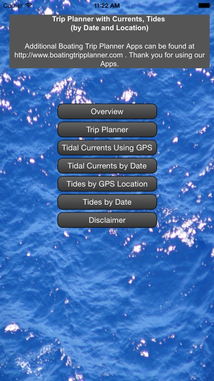 West Coast Trip Planner using Tidal Currents + Tides