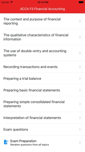 ACCA F3 - Financial Accounting