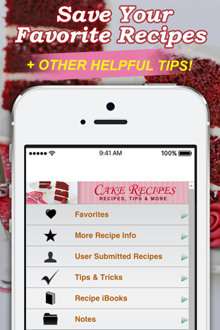 Cake Recipes! screenshot 4